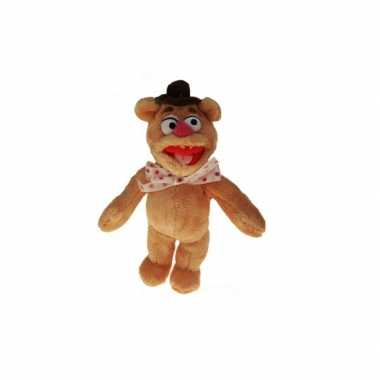Pluche muppet fozzie beer beren knuffel 35 cm