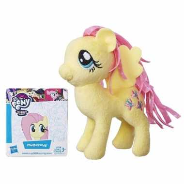 Pluche my little pony knuffel fluttershy 13 cm