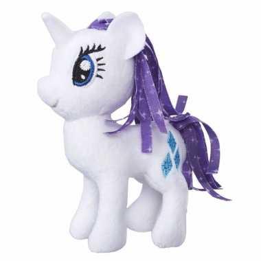 Pluche my little pony knuffel rarity 13 cm