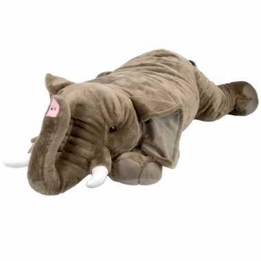 Pluche olifant knuffel 76 cm