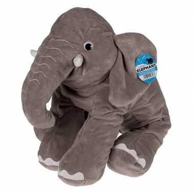 Pluche olifant knuffeldier 53 cm