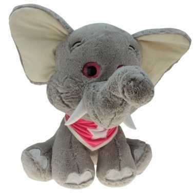 Pluche olifanten dieren knuffel emilia 25 cm