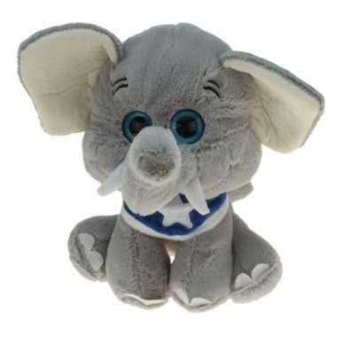 Pluche olifanten dieren knuffel enno 25 cm