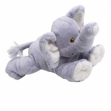 Pluche olifanten knuffeldier van 22cm