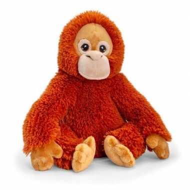 Pluche orang oetan aap knuffel van 25 cm