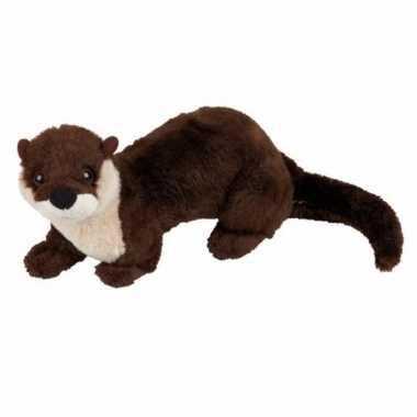 Pluche otter knuffel 18 cm