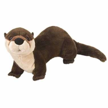 Pluche otter knuffel 30 cm