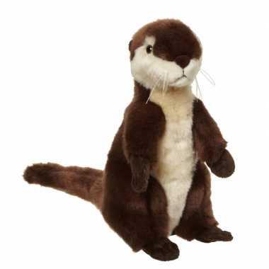 Pluche otter knuffeldier 28 cm