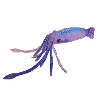 Pluche paarse octopus/inktvis knuffel 38 cm speelgoed