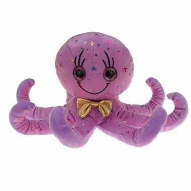 Pluche paarse octopus/inktvis knuffel 40 cm
