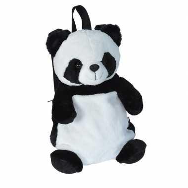 Pluche panda beer rugzak/rugtas knuffel 33 cm