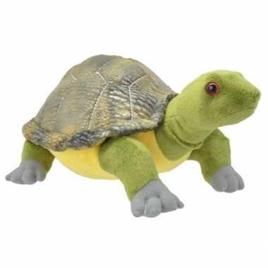 Pluche schildpad knuffel 28 cm