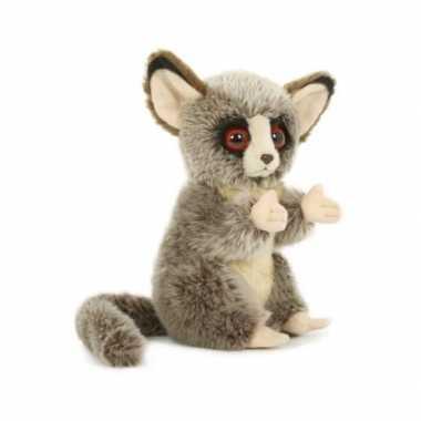 Pluche spookdiertje tarsier knuffel 18 cm speelgoed