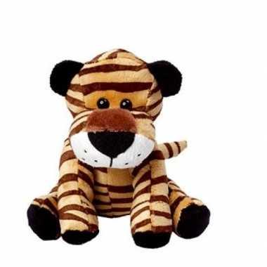 Pluche tijger knuffel 20 cm