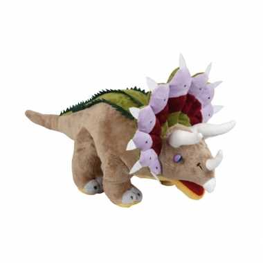 Pluche triceratops knuffel 43 cm