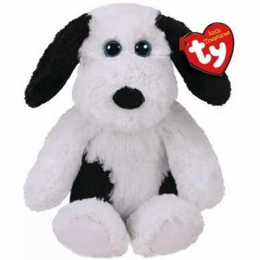Pluche ty beanie witte hond/honden knuffel muggy 20 cm