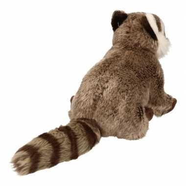 Pluche wasbeer knuffel 30 cm