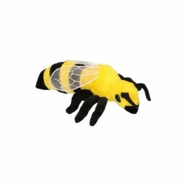 Pluche wespen knuffel 20 cm