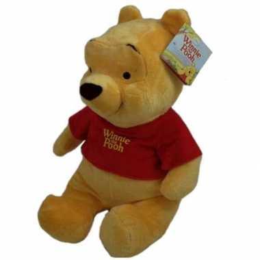 Pluche winnie de poeh knuffel 61 cm disney speelgoed