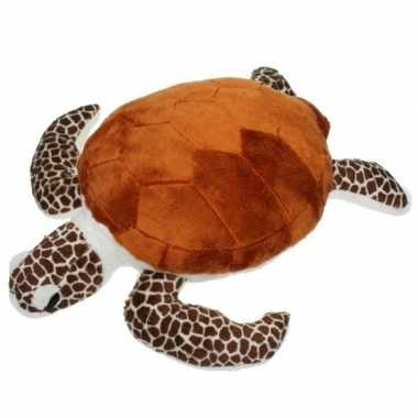 Pluche zeeschildpad knuffel 43 cm