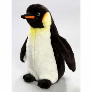 Pluchen knuffel pinguin 33 cm