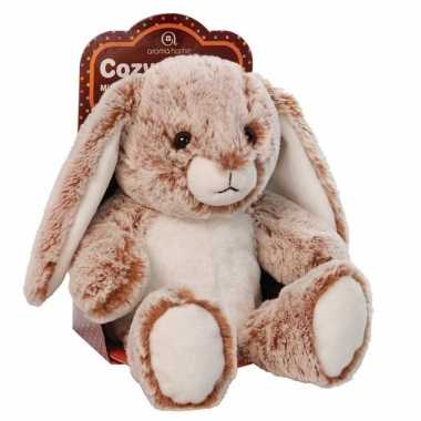 Warmte knuffel konijn met lavendel olie