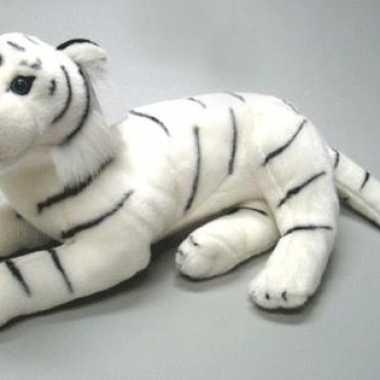 Witte tijger knuffel 40 cm