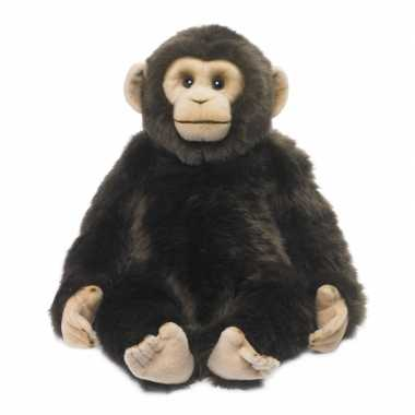 Wnf pluche chimpansee knuffel 40 cm
