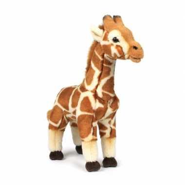 Wnf pluche giraffe knuffel 31 cm