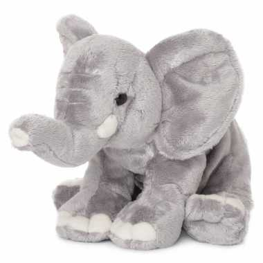 Wnf pluche olifant knuffel met slurf omhoog 25 cm