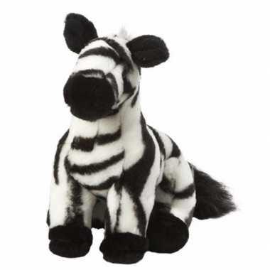 Zebra knuffeltje 18 cm