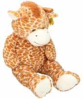 Grote pluche giraf knuffel 100 cm speelgoed