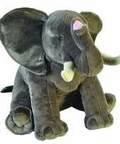 Grote pluche olifant knuffel 70 cm