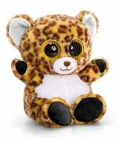 Keel toys pluche luipaard knuffel 15 cm