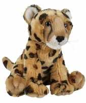 Pluche gevlekte cheetah knuffel 30 cm speelgoed